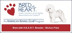 AKC Bred With H.E.A.R.T Program